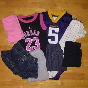 3-6 month clothing lot (8 pieces)